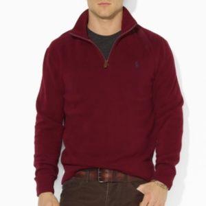Ralph Lauren Quarter Zip - Red/Burgundy